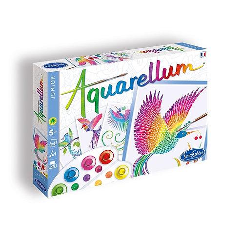 """Aquarellum Junior """"Oiseaux de paradis"""" - Sentosphère"""
