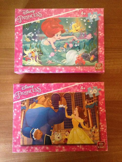 Puzzle - Princesses - 50 pièces