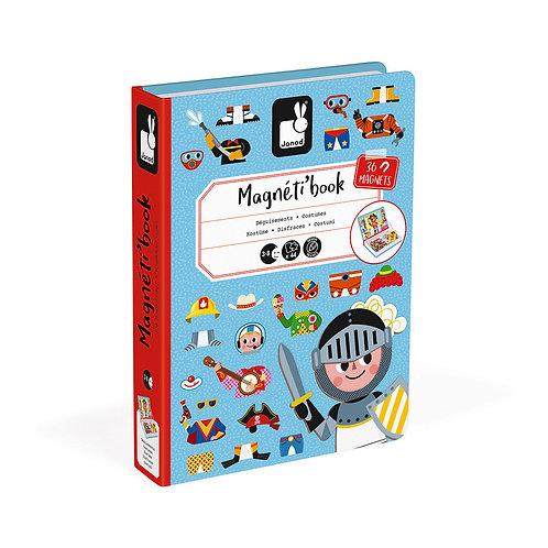 MAGNÉTI'BOOK DÉGUISEMENTS GARÇON, 36 MAGNETS - Janod