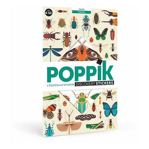 Poppik Insectes - Poster en stickers