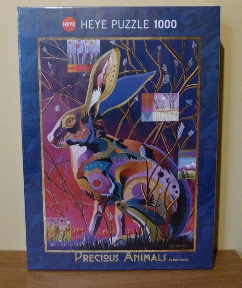 Puzzle - Lapin - Heye - 1000 pièces