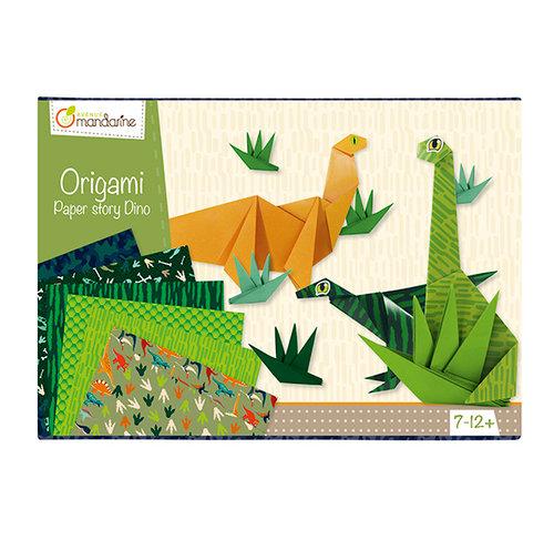 Boîte créative- Origami dinosaures