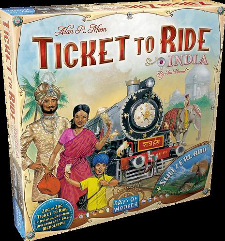 Aventuriers du rail : Inde/Suisse (EXT)