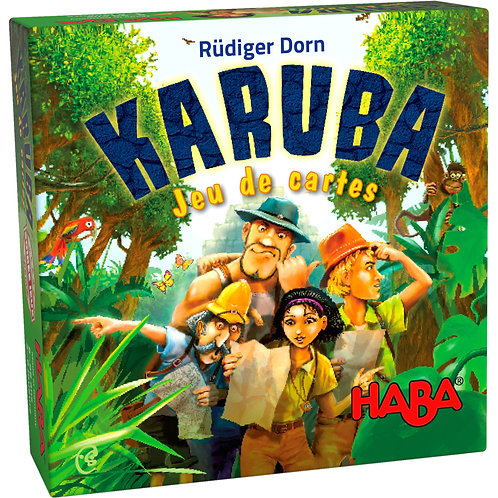 Karuba - Jeu de cartes