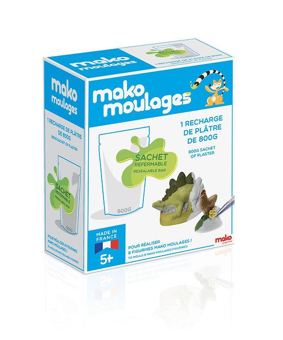 Mako moulages - Recharge plâtre 800 g