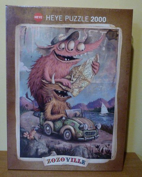 Puzzle - Zozoville - 2000 pièces