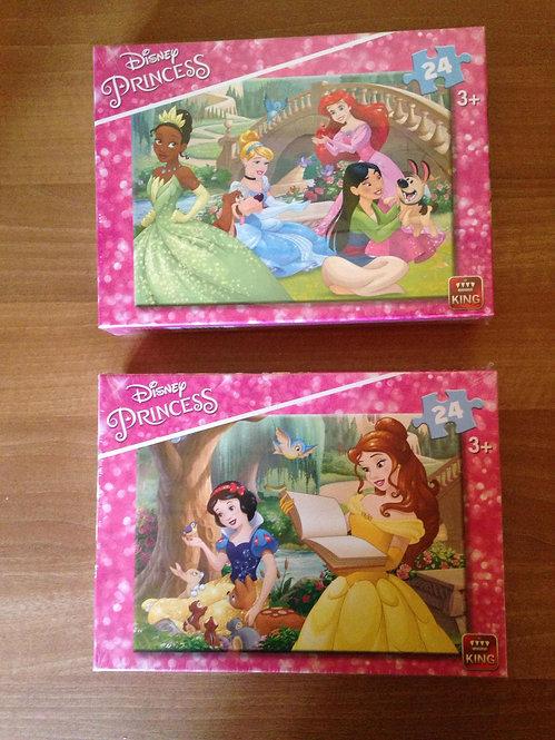 Puzzle - Princesses - 24 pièces