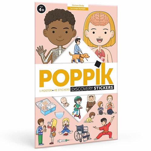 Poppik Corps humain - Poster éducatif