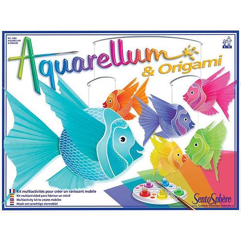Aquarellum et Origami - Sentosphère