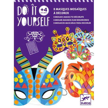 Masques DIY - Animaux de la jungle - Djeco