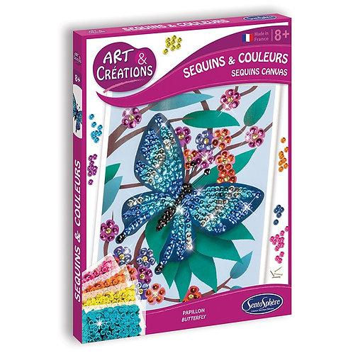"""Sequins et couleurs  """"Papillons"""" - Sentosphère"""