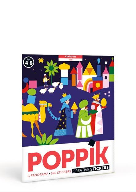 Poppik Christmas - Poster en gommettes