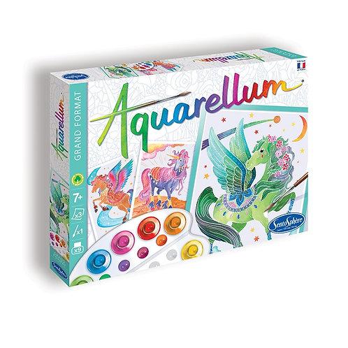 """Aquarellum """"Licornes et Pégases"""" - Sentosphère"""
