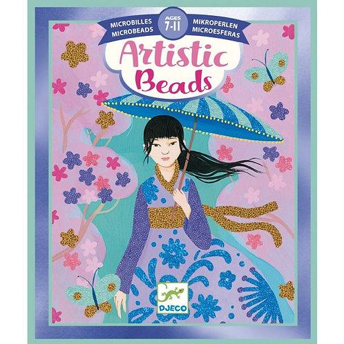 Artistic Beads - Toisons de fleurs - Microbilles - Djeco