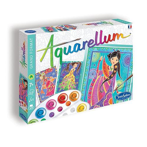 """Aquarellum """"Glamour Girls"""" - Sentosphère"""