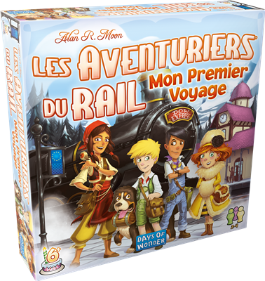 Les aventuriers du rail - Mon 1er voyage
