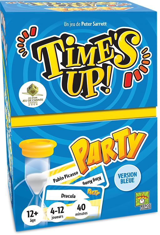 Time's up Party 2 (bleu)
