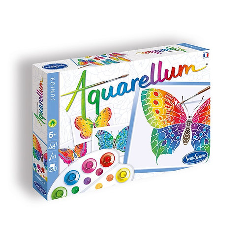 "Aquarellum Junior ""Papillons"" - Sentosphère"