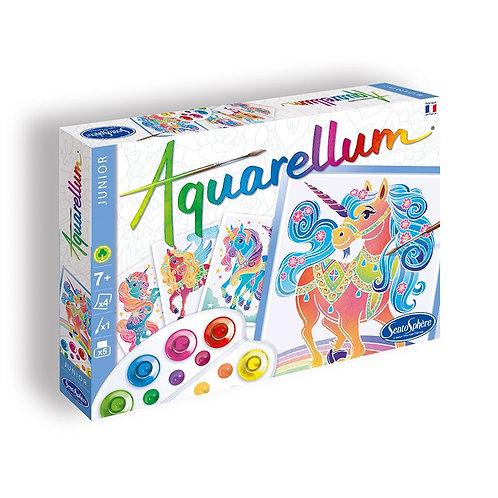 """Aquarellum Junior """"Licornes"""" - Sentosphère"""