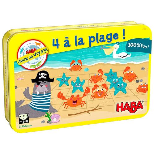 4 à la plage !