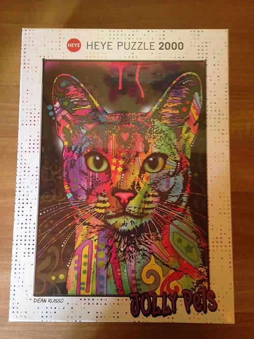 Puzzle - Chat - 2000 pièces