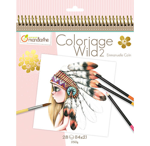 Carnet de coloriage Wild2