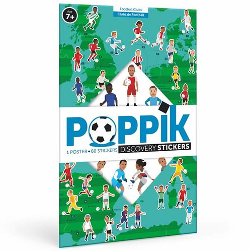 Poppik Football - Poster éducatif