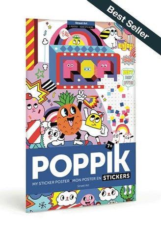 """Poppik - Poster en stickers """"Street Art"""""""