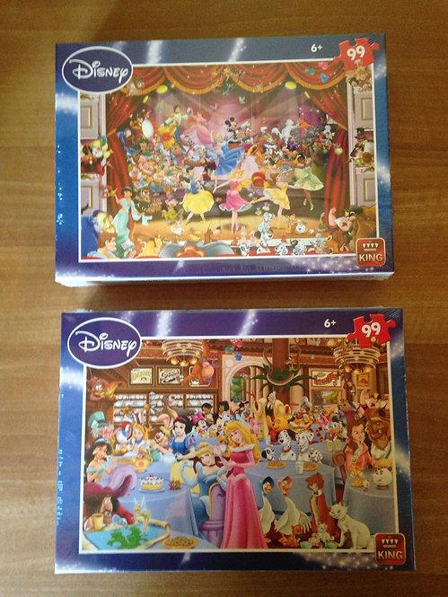 Puzzle - Disney - 99 pièces