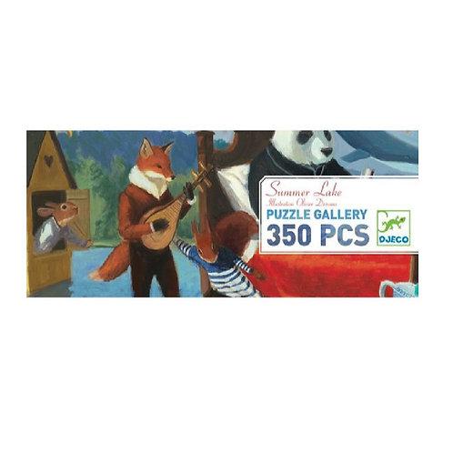 Puzzle - Summer Lake - 350 Pces - Djeco