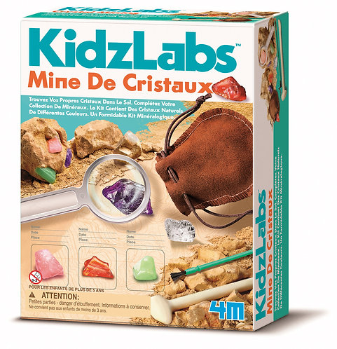KidzLabs - Mine de cristaux
