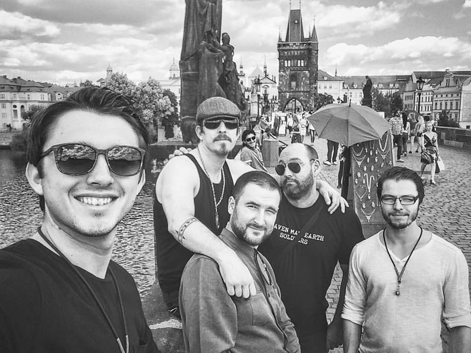 Hanging out in Prague