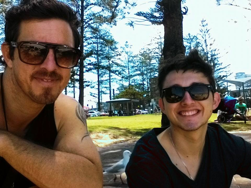 Hanging out at Burleigh