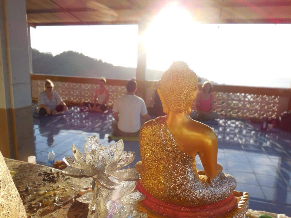 teaching meditation in Thailand