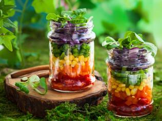 Salada no Pote - Prática, leve e saudável!