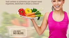 Alimentos que trazem benefícios para o organismo e bem-estar.