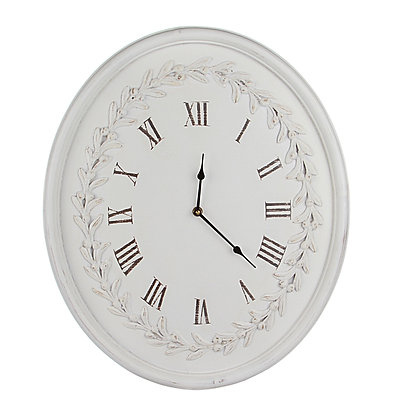 Часы овальные Романс