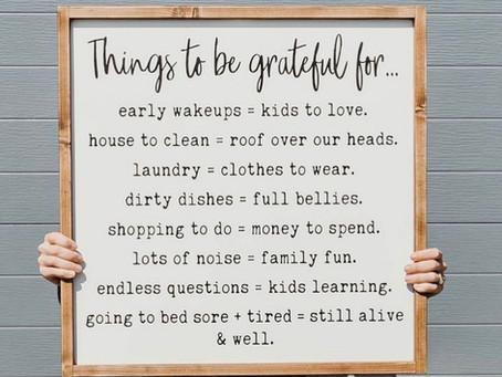 A Grateful Perspective