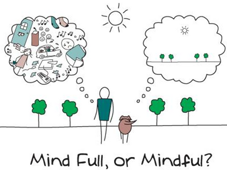 Mindful vs Mind full