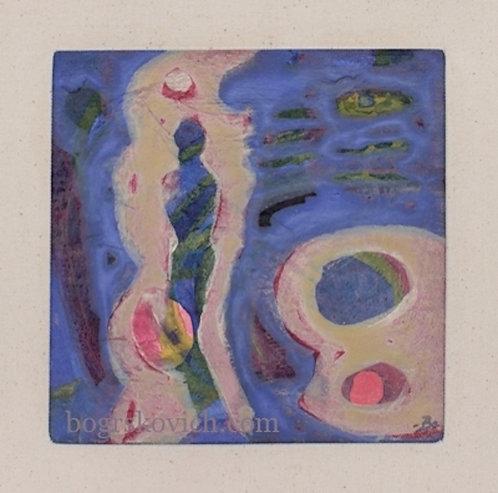 Era VIII // Acrylic - Mixed Media on Canvas