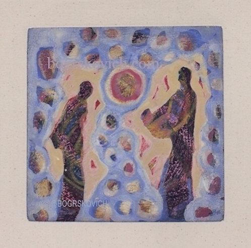 Era IV // Acrylic-Mixed media on Canvas