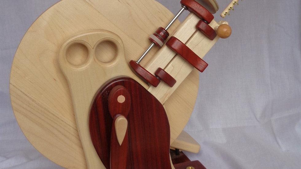 Capricorn Wheel in Maple Body and Padauk Wing