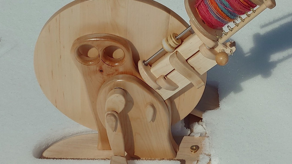 Capricorn Wheel in Maple Body and Maple Wing