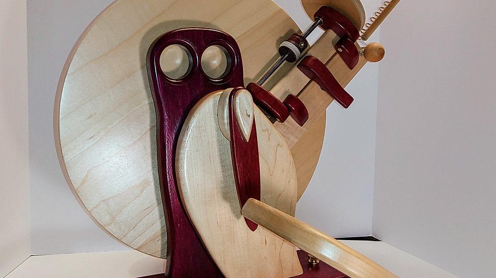 Capricorn Wheel in Purpleheart Body and Maple Wing