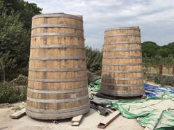 Oak Cider Barrels - After