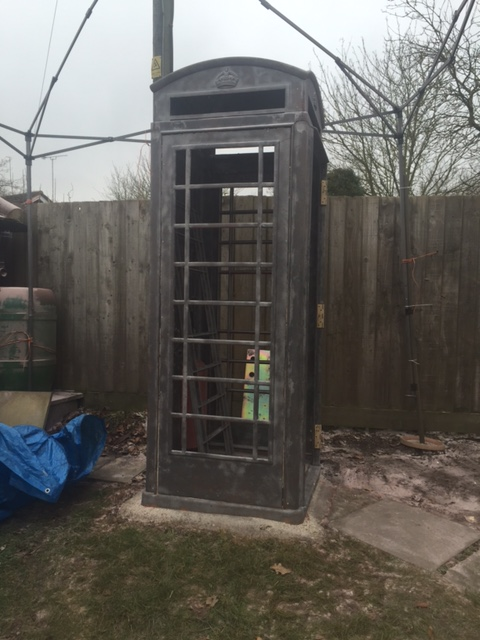Red Phone Box - After