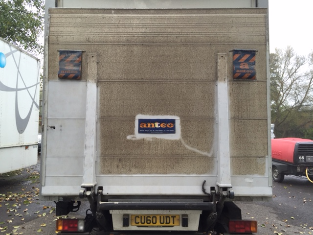 Lorry Taillift - Before