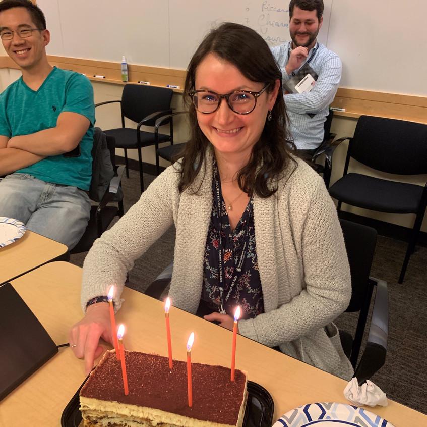 Stephanie's 1st Lab Birthday 2019