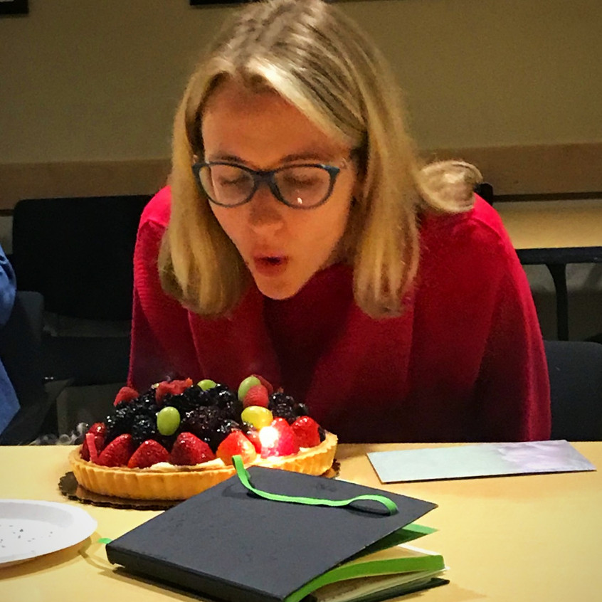 Olga's 30th deserves an awesome cake