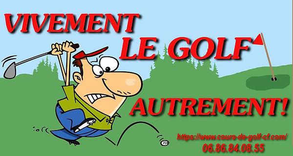 Stage et cours de golf Cyril Ferran